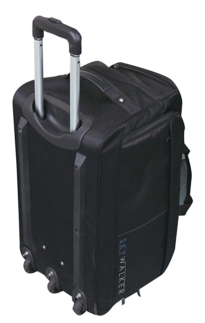 見つけた老朽化した元気福徳産業 スーツケース ブラック サイズ/H37×W63×D32cm