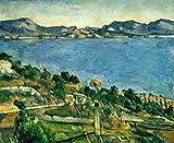 Kunstdruck/Poster: Paul Cézanne Ansicht des Golfs von