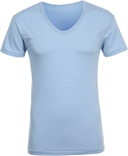 TRY Men's Undershirts Cotton Stretch Crewneck T-Shirts