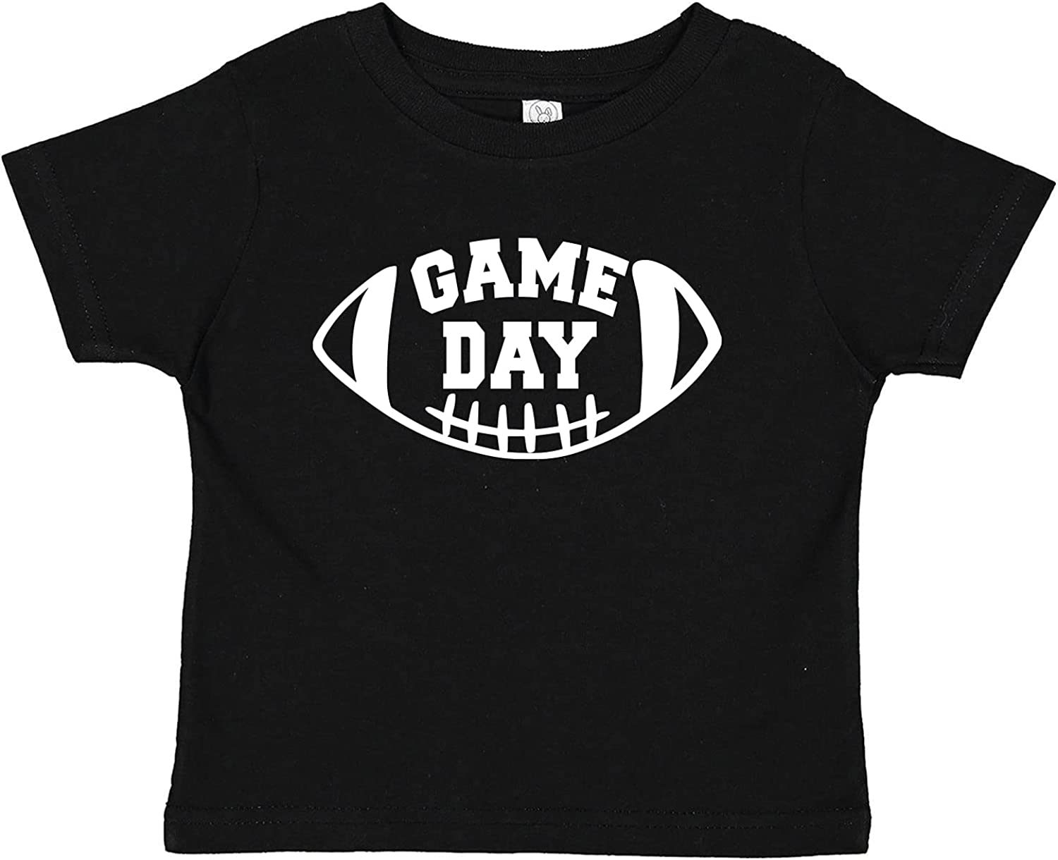 Game Day Football Baby Infant Toddler Tee Shirt (Assorted Colors)