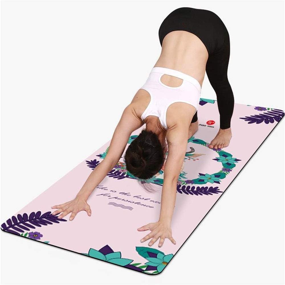 Yoga Mat Yoga Viajes alfombra antideslizante de goma Impreso ...