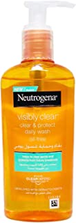 غسول فيزبلي كلير من نيوتريجينا: غسول يومي للتنظيف والحماية، 200 مل
