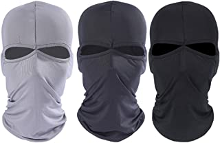 Olive Military SAS Style 3 Hole Knitted Hiver Balaclava Face Mask