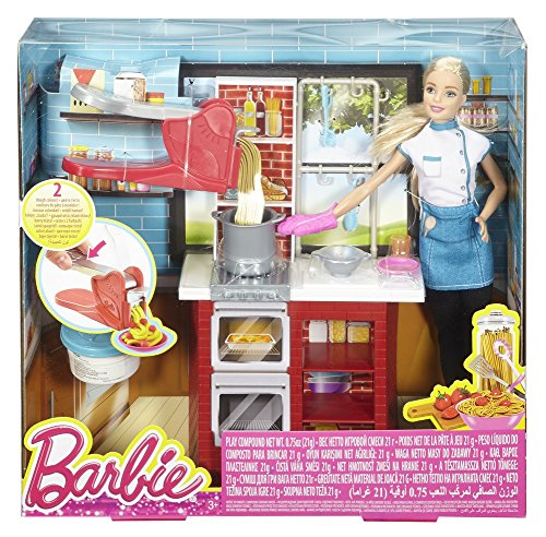 Chef Barbie Restaurant Cuisine le Spaghetti - 7