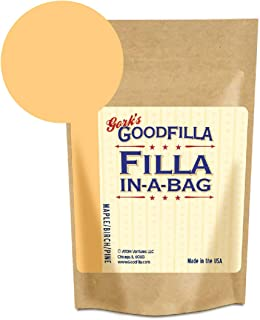 Wood Filler & Putty Powder - Innovative Formula - Filla-in-A-Bag - Maple/Birch/Pine - 4 oz by Goodfilla | Repairs, Finishes & Patches | Paintable, Stainable, Sandable & Quick Drying | Zero Waste