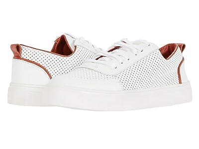 KAANAS Milos Perforated Sneaker with Toe-Cap (Tomatoe) Women