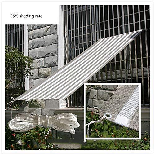 ZJDU Sonnenschutz Sail Rectangle Canopy in Mit Handelsqualität, Rechteckiger Sonnenschutz Sail UV Block Stoff Für Patio Im Freien Und Schwimmbad,0.5×2m