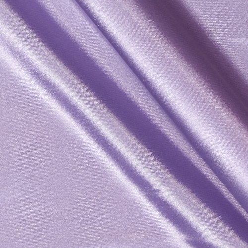 Ben Textiles Stretch Charmeuse Satin Lavender Fabric By The Yard