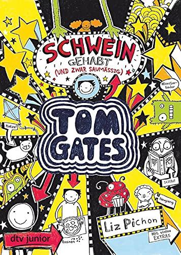 Tom Gates: Schwein gehabt (und zwar saumäßig): Cooler Comicroman ab 9 (Die Tom Gates-Reihe, Band 7)