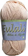 Hilaza Eulali 100% algodón, madeja de 100 gramos (Carne)