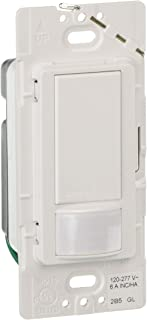 Lutron MS-OPS6M2U-DV-SW Passive Infrared Sensors with Exclusive Lutron XCT Technology for Fine Motion Detection Snow
