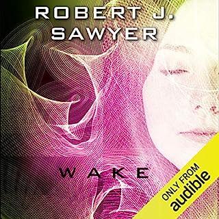WWW: Wake audiobook cover art