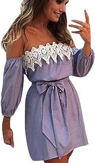 f6cfff6031d Women Off Shoulder Lace Dress