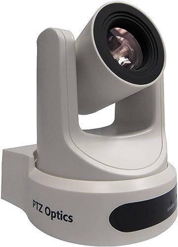 PTZOptics 20X-NDI-WH, 20x Lens NDI Camera, White