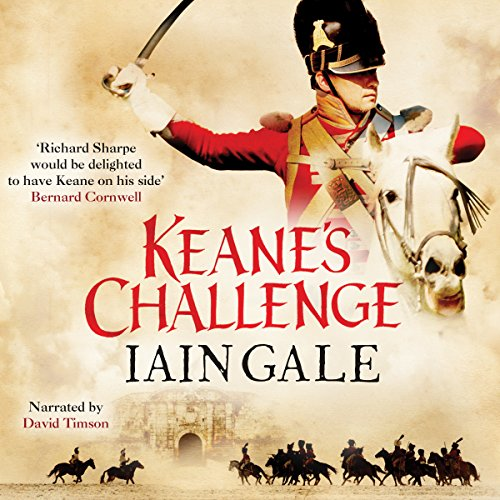 Keane's Challenge audiobook cover art