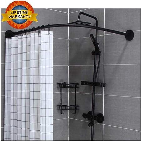 angle baignoire support de douche barre