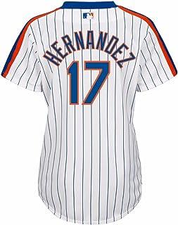 Majestic Keith Hernandez New York Mets MLB Women`s White Alternate Cool Base Jersey
