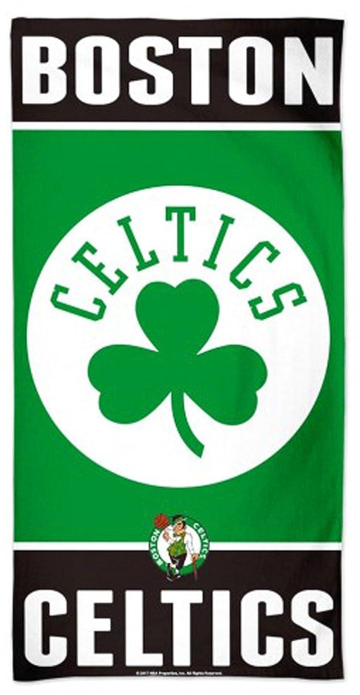 人種兵器庫第三WinCraft NBA Boston Celtics Beach Towel, 80cm x 150cm , Fibre 100% Cotton