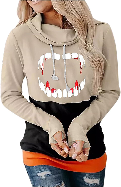 Women's Halloween Pumpkin Directly managed store Face Sweatshirts Hoodies Printed New Free Shipping Casua