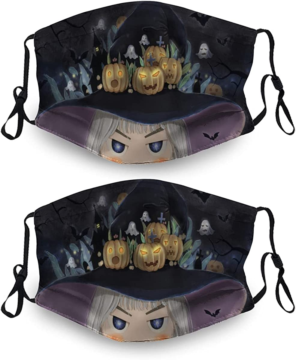Halloween Ma-Sk Washable Dust Mask Reusable Filter 4 Ranking TOP7 2 OFFicial site with Sets