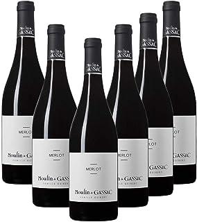 Moulin de Gassac Merlot, Red Wine, 750ml (Case of 6)