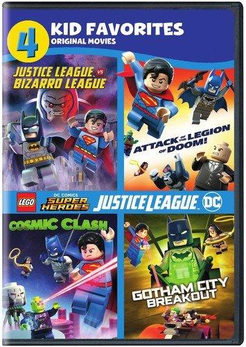 4 Kid Favorites: LEGO DC Super Heroes (DVD)