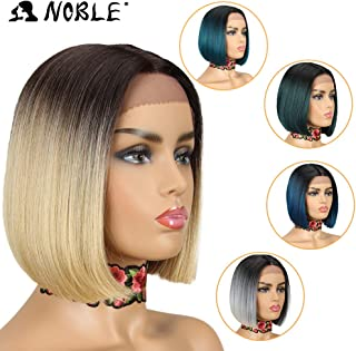 NOBLE Ombre BOB Wig Lace Front Synthetic Wig(10inches, TT4/8613)