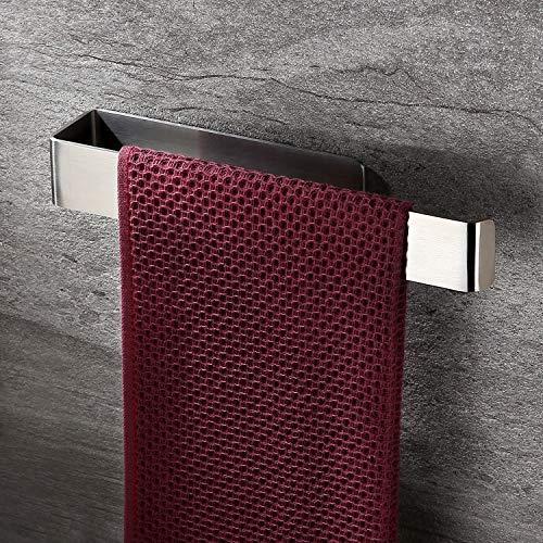 Ruicer Handtuchhalter Ohne Bohren Handtuchring/Handtuchstange Selbstklebend Edelstahl 26CM
