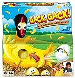 Mattel Games FRL48 - Gack Gack lustiges Hühnerspiel und Kinderspiel geeignet für 2 - 4 Spieler,...