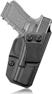 Glock 19 Holster, IWB KYDEX Appendix Holster for Glock 19 19X 23 32 45 (Gen 3/4/5), Conealed Carry Inside Waistband, US KYDEX Made, Adjustable Cant - Right Handed