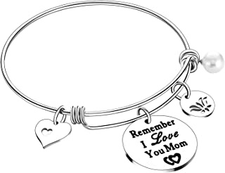 Nimteve Mom Gifts from Daughter Son Mother Bracelet Bangle Jewellery Gifts for Women
