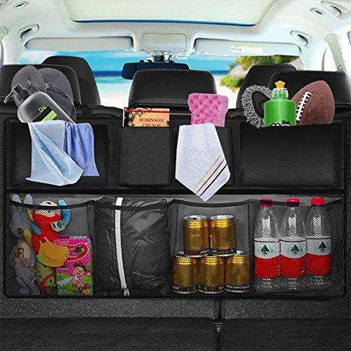 Dcolor Bolsa organizadora para asiento trasero de coche, para guardar objetos y accesorios