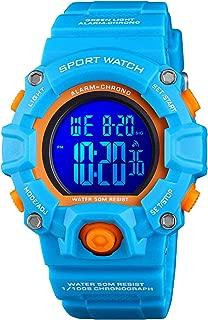 Kid Watch for Boys Girls LED Sports Watch Waterproof...