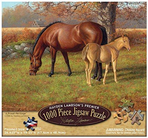 Reflective Art A Proud Heritage Jigsaw 1000 Piece Puzzle, 11.5' L x 2' H x 9.5' W