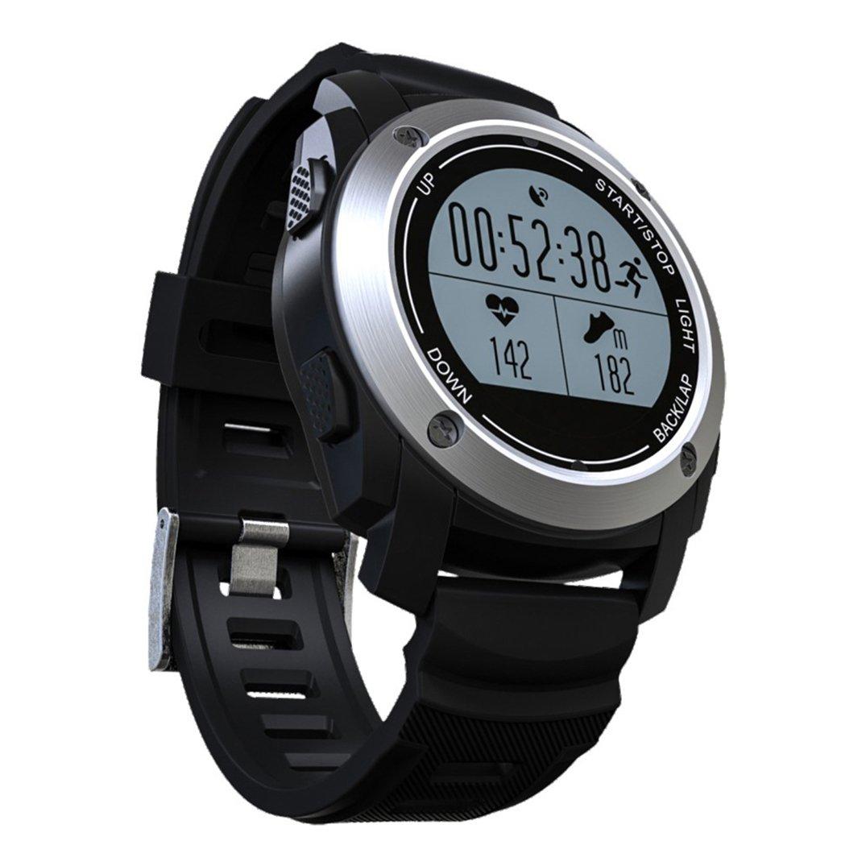 WeiTu Furn GPS Sport Smart Watch Correr Monitor de frecuencia ...