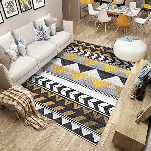 DJUX Alfombra de Dormitorio, alfombras Circulares Muy Suaves, alfombras para Sala de Estar, hogar, alformbras acogedoras y peludas, alfombras de Suelo,120x200cm