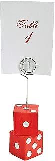 Casino Night Bunco Place Card Holders/Appetizer Identifiers - 12 pc
