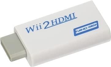 Eastvita Full 1080p 720P HD Nintendo Wii to HDMI Converter Output Upscaling Adapter 480i