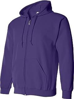 Gildan Mens G18600 Men's Fleece Zip Hooded Sweatshirt Shirt