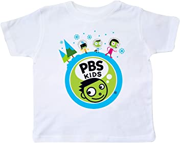 PBS Kids inktastic My Brother Rocks with Dot and Del Long Sleeve Creeper