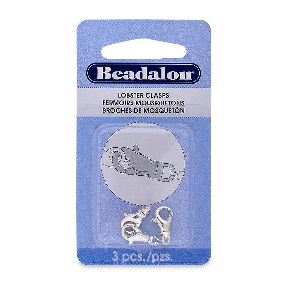 Beadalon 315B-032 Lobster Clasp Swivel 15mm Nickel Free Silver, Plated, 3-Piece blqhhtflu4298