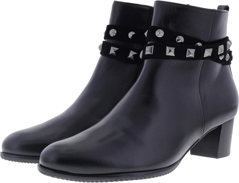 Hassia   Turin Schwarz Ziegenleder Wechselfußbett Art  4-306914-0100   Damen Stiefelette  | Gewinnen Sie das Lob der Kunden