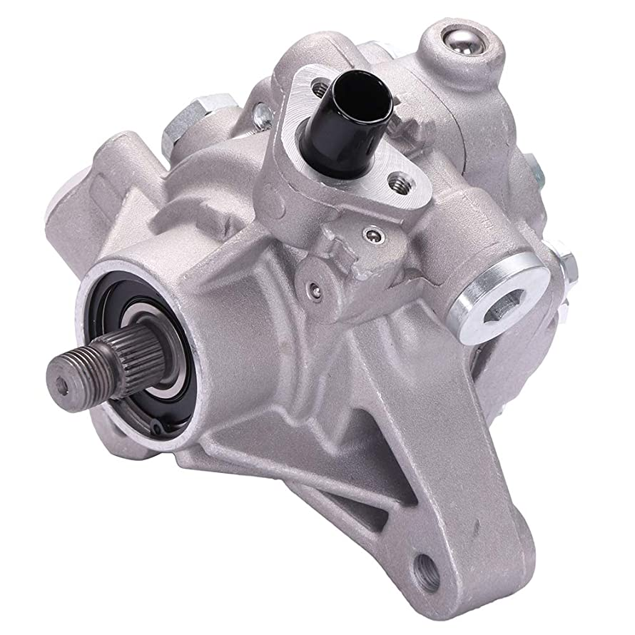 Power Steering Pump Fits 03-05 Honda Accord DX/EX/LX/SE CCIYU 21-5341 Power Steering Assist Pump