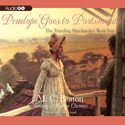 Penelope Goes to Portsmouth audiobook cover art