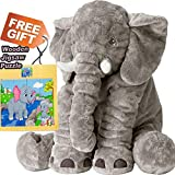 24 Inches Doll | Stuffed Animal Plush Toy | Gray Color | Extra Extra Large Size | Stuffed Animal Doll | (Gray)