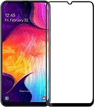 واقي شاشة Samsung Galaxy A30، واقي شاشة تغطية كاملة لهاتف Galaxy A30، واقي شاشة شفاف من الزجاج المقوى لهاتف Samsung Galaxy A30 مقاس 6.4سم