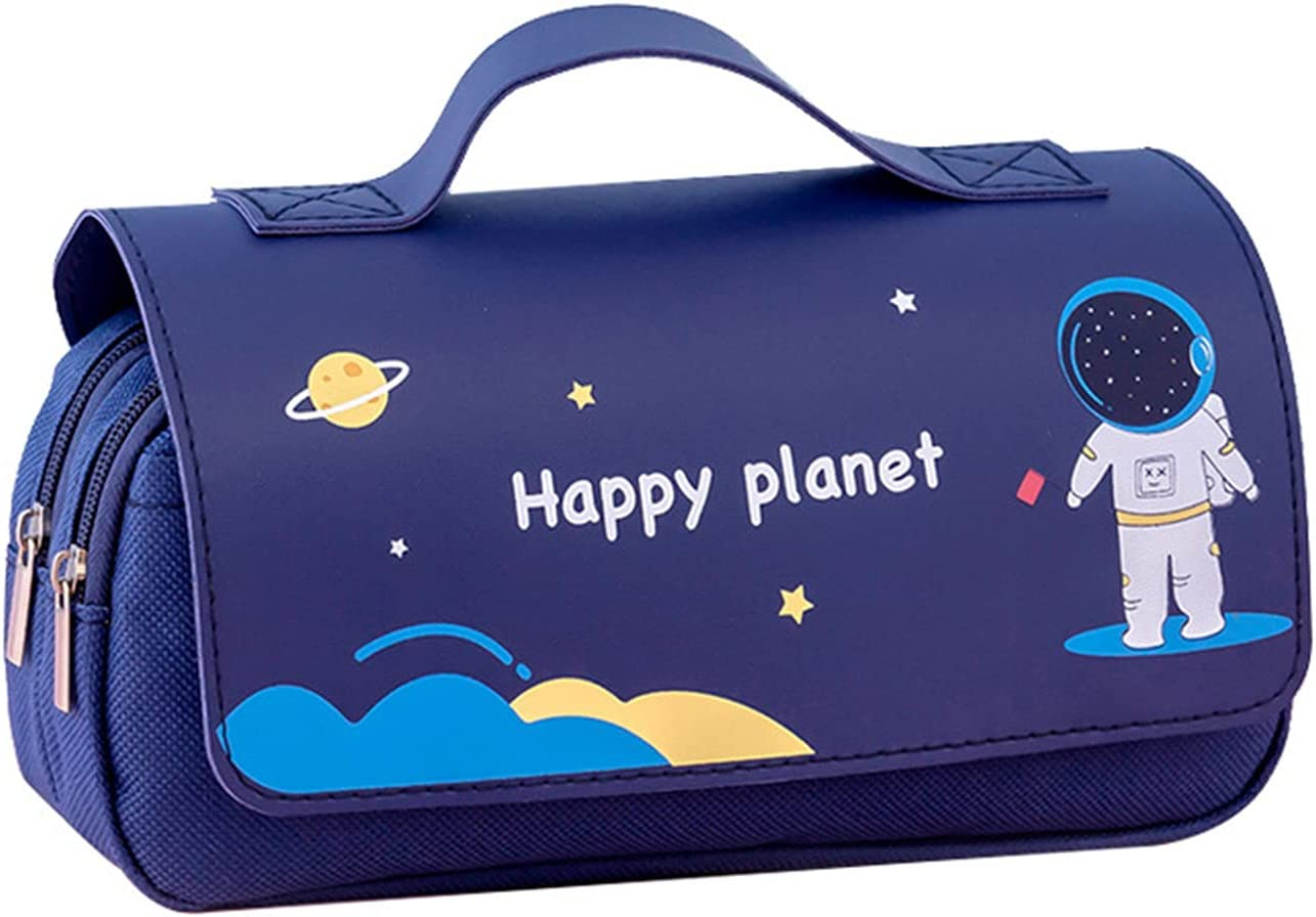 GBSELL Cute Pencil Case Portable Happy Bombing free shipping Clearance SALE Limited time Planet Handheld Girls Pen