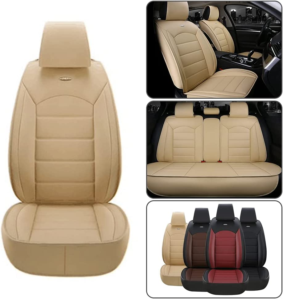 Dinuoda-US Car Seat Covers PU Standard 40% OFF Cheap Sale Spasm price Cushion Set Leather Full