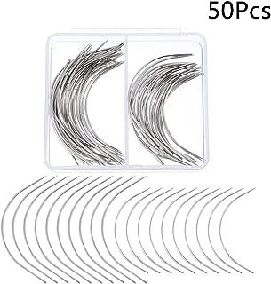 Curvato Aghi da Cucire 4 Tipi C Forma Accessori di Cucitura Ricamo Mestiere