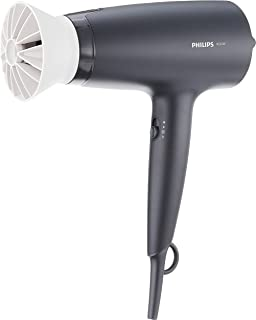 PHILIPS BHD302/13 Dryer 3000 Airflower Thermoprotect Hair Dryer (1600W) Charcoal/Grey